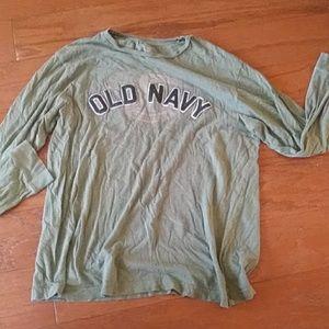 Long sleeve old navy tee